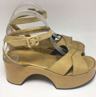 Authentic Robert Clergerie Wedges