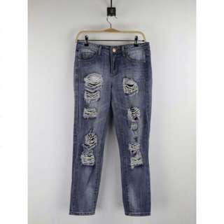 6ixty8ight Tattered Jeans