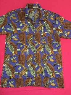 brown leaf shirt