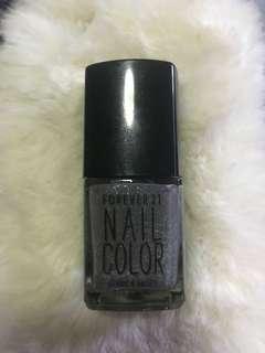 Light Glitter Gray Nail Polish