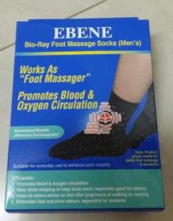 Ebene Bio-Ray Foot Massage Socks(Men)