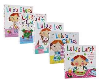 Lulu sensory story books - full set 5 books