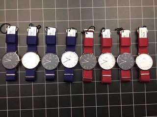 Daniel Wellington Roselyn and Bayswater 36mm and 40mm