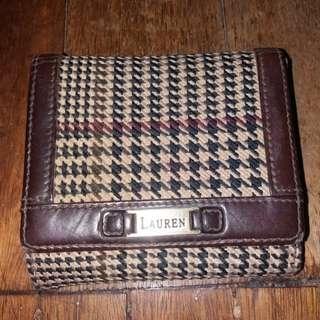 💯Original Ralph Lauren Rl bifold.wallet