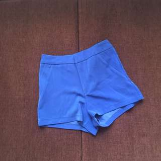Blue Short Pants / Celana Pendek