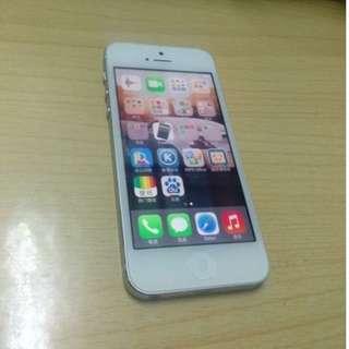 iPhone 5 32GB 銀色 95% new 新凈