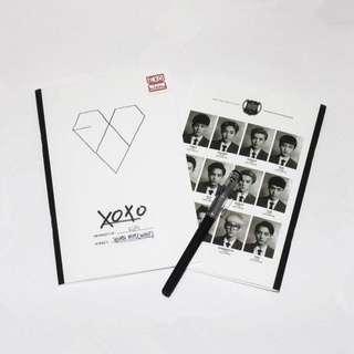 EXO XOXO NOTEBOOK