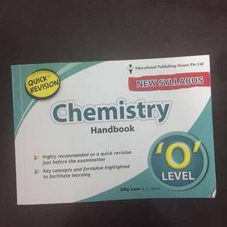 Chemistry O-Levels revision handbook