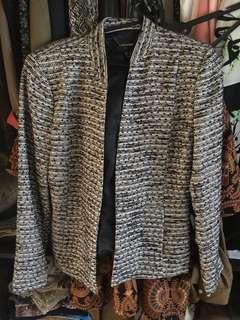 MNG blazer outerwear tweed