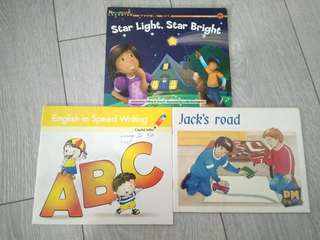 Children Story Books + tracing book
