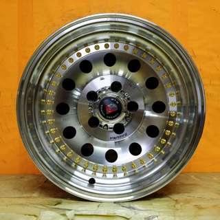 SPORT RIM 4X4 15inch MTW KEMBARA TRITONLITE JEEP