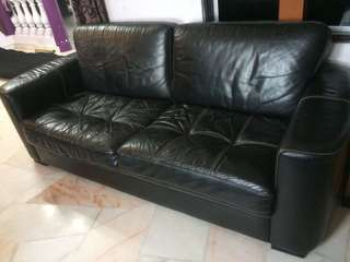 Sofa Leather 3+2+1