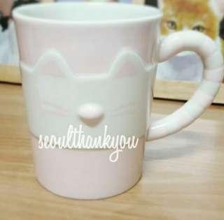 Korea Starbucks Valentine Cat 2018