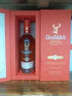 格蘭菲迪 Glenfiddich 21y whisky  威士忌