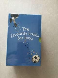 Ten Favourite Books for boys