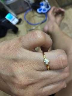 Heart ring 1.6 grams
