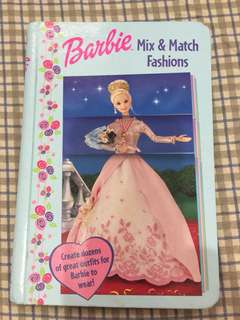 BARBIE mix & match fashion book