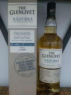 格蘭利威 Glenlivet 泥煤桶風味 61.5% 7OOmL whisky 威士忌