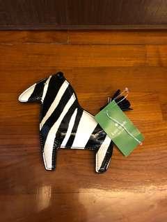 Kate Spade Zebra Coin Bag 可愛 斑馬 散紙包