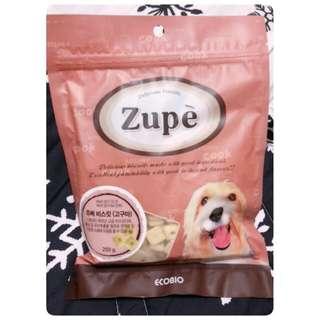 🚚 Zupe 露沛有機機能餅乾 紅薯+紅蔘250g