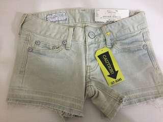 🚚 日系品牌SLY 牛仔小短褲 26寸