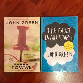 John Green's The Fault In Our Stars &Paper Towns