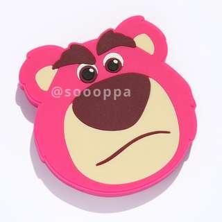 【預購】台灣代購 Disney Toy Story Lotso Tsum Tsum 迪士尼 反斗奇兵 勞蘇 公仔 無線充電器