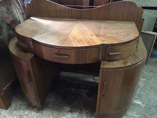 Art Deco side board cum desk