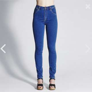 WRANGLER HIGH WAISTED SKINNY JEANS NEW WITH TAGS