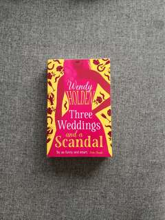 three weddings and a scandal | wendy holden