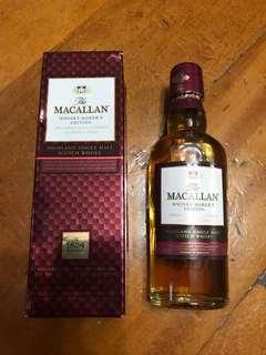 MACALLAN 酒版,一套四支全部有盒600元,多年收藏有意聯繫。