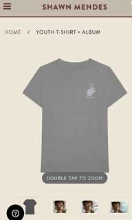 Shawn Mendes Youth T Shirt + CD