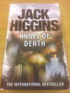 Angel of Death by Jack Higgins (A Sean Dillion Thriller)