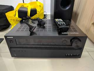Onkyo TX-NR525 5.2 Channel Reciever