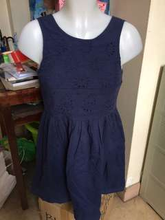 SALE! Navy blue dress 😍 (FREE SF WITHIN MM)