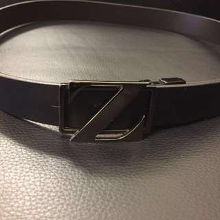 Zenga Leather Belt