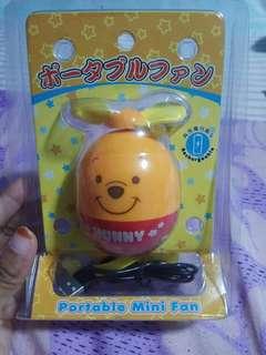 [BRAND NEW] Winnie The Pooh Portable Mini Fan.