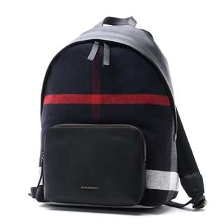 BURBERRY backpack ABBEYDALE navy-blue 4033396