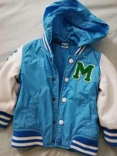 H&M toddler bomber jacket w/ hoodie