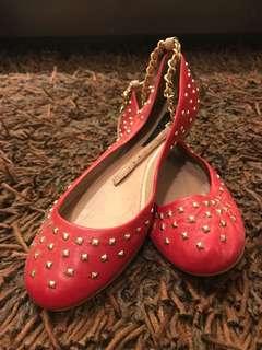 Red Zara Flats