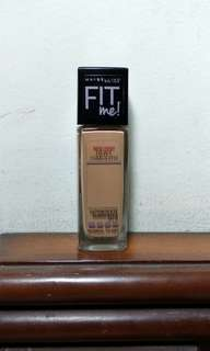 MAYBELLINE FIT ME! DEWY + SMOOTH FOUNDATION (310 SUN BEIGE)