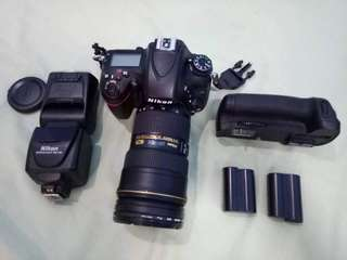 Nikon D610 with lenses and more