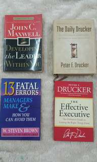 Self development books