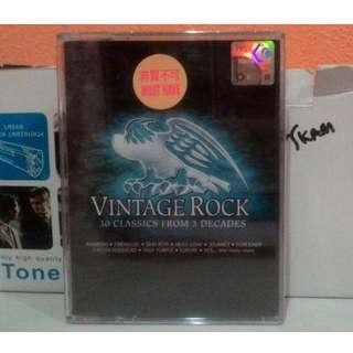 Kaset Double Vintage Rock