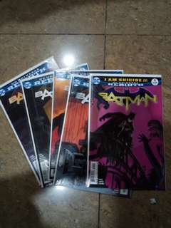 Batman: I am suicide #9-13