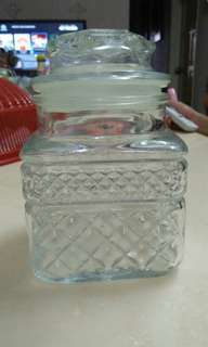 Glass Container for kuih raya