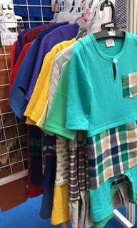 Rompers Baju Melayu for boys