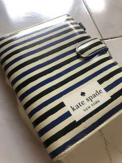 Kate Spade Leather Notebook