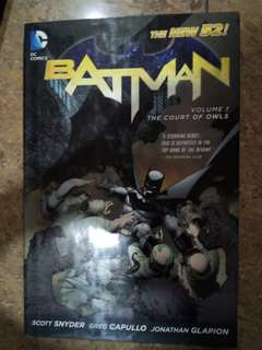 Batman: The court of owls vol 1