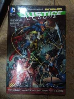 Justice League: Throne of atlantis vol 3